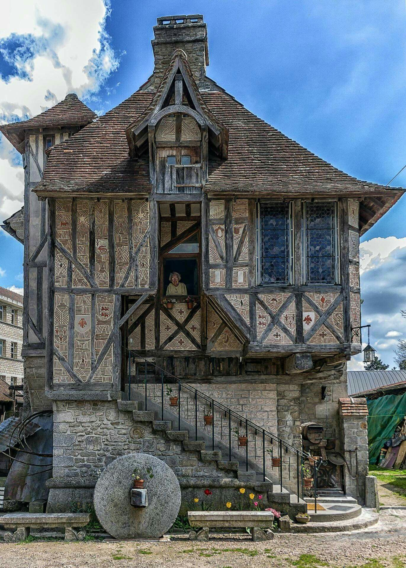 500 Year Old House In Argentina France