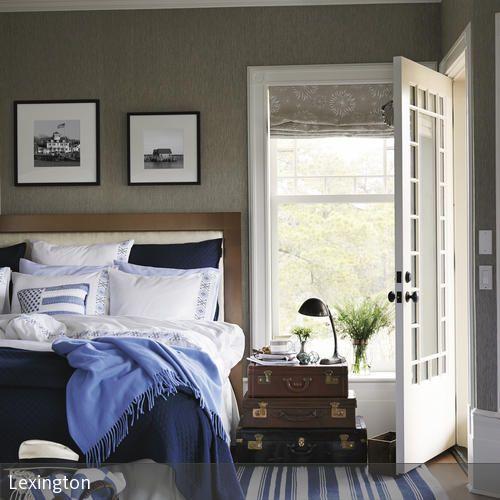 Schlafzimmer im maritimen Look | einfaches Schlafzimmer, Maritim und ...