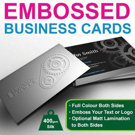 Impress Your Way To Success With Printed Embossed Business Cards Graphics Design Print Embossed Business Cards Printing Business Cards Cards
