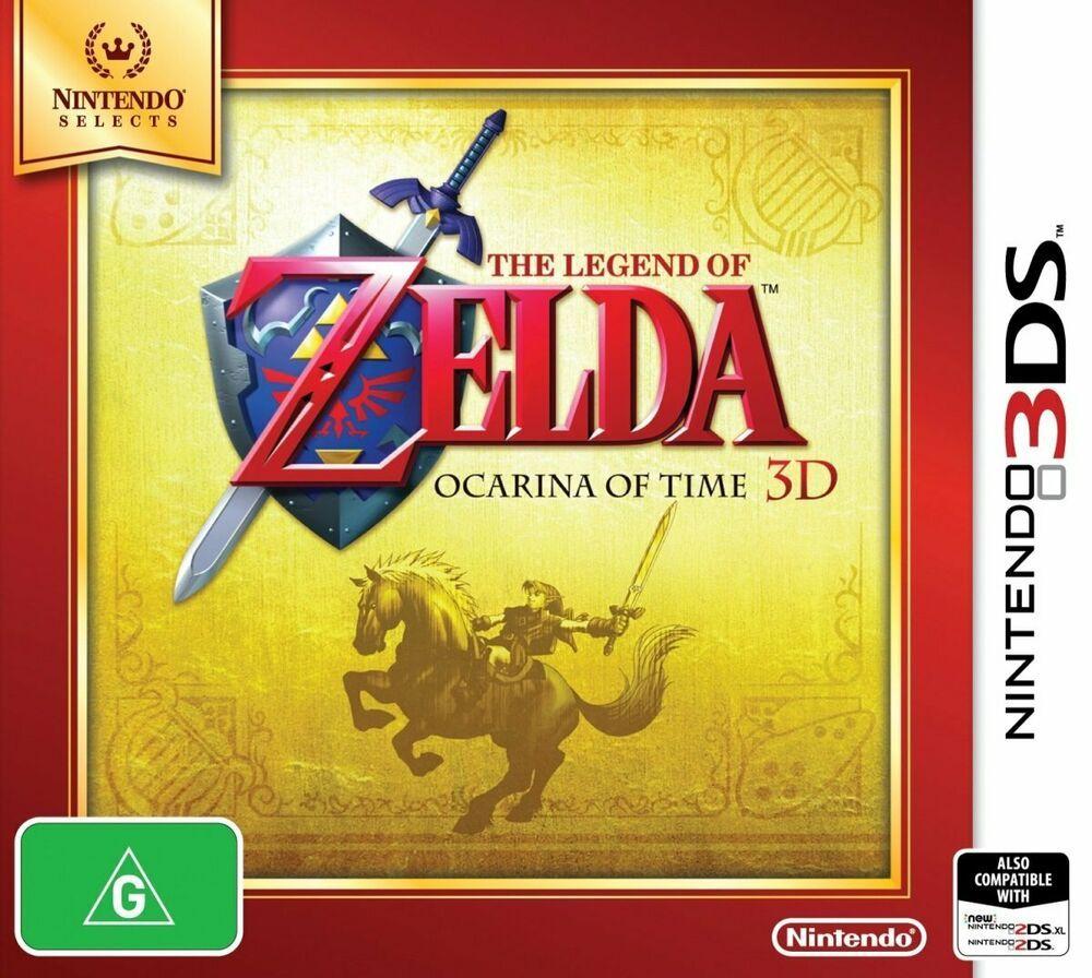 Details about The Legend of Zelda Ocarina of Time 3D