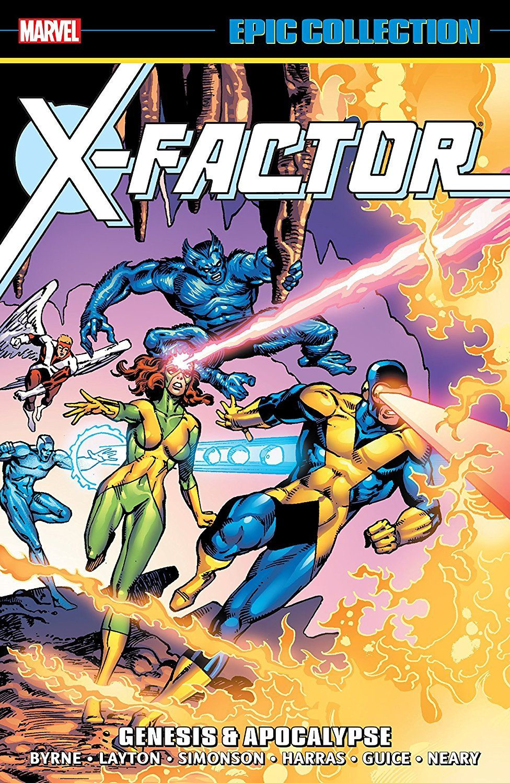 X Factor Epic Collection Genesis Apocalypse X Factor 1986 1998 Marvel Epic Collection Apocalypse Comics Comics