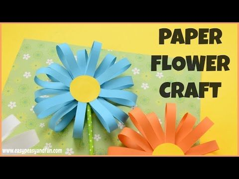 How to make a paper flower flower craft youtube how to make a paper flower flower craft youtube mightylinksfo
