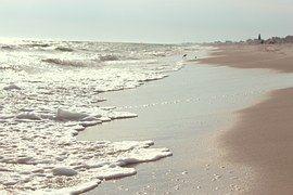Beach, Sand, Shore, Waves, Ocean, Sea