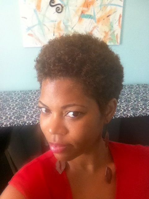 Today, on my birthday, I celebrated by doing my Big Chop, or Freedom Chop, as this great stylist likes to call it. #6/5/13