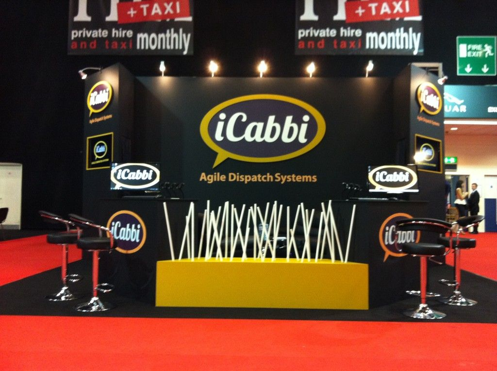 Exhibition Stand Hire Manchester : Exhibition stand conventry uk for icabbi. we project managed