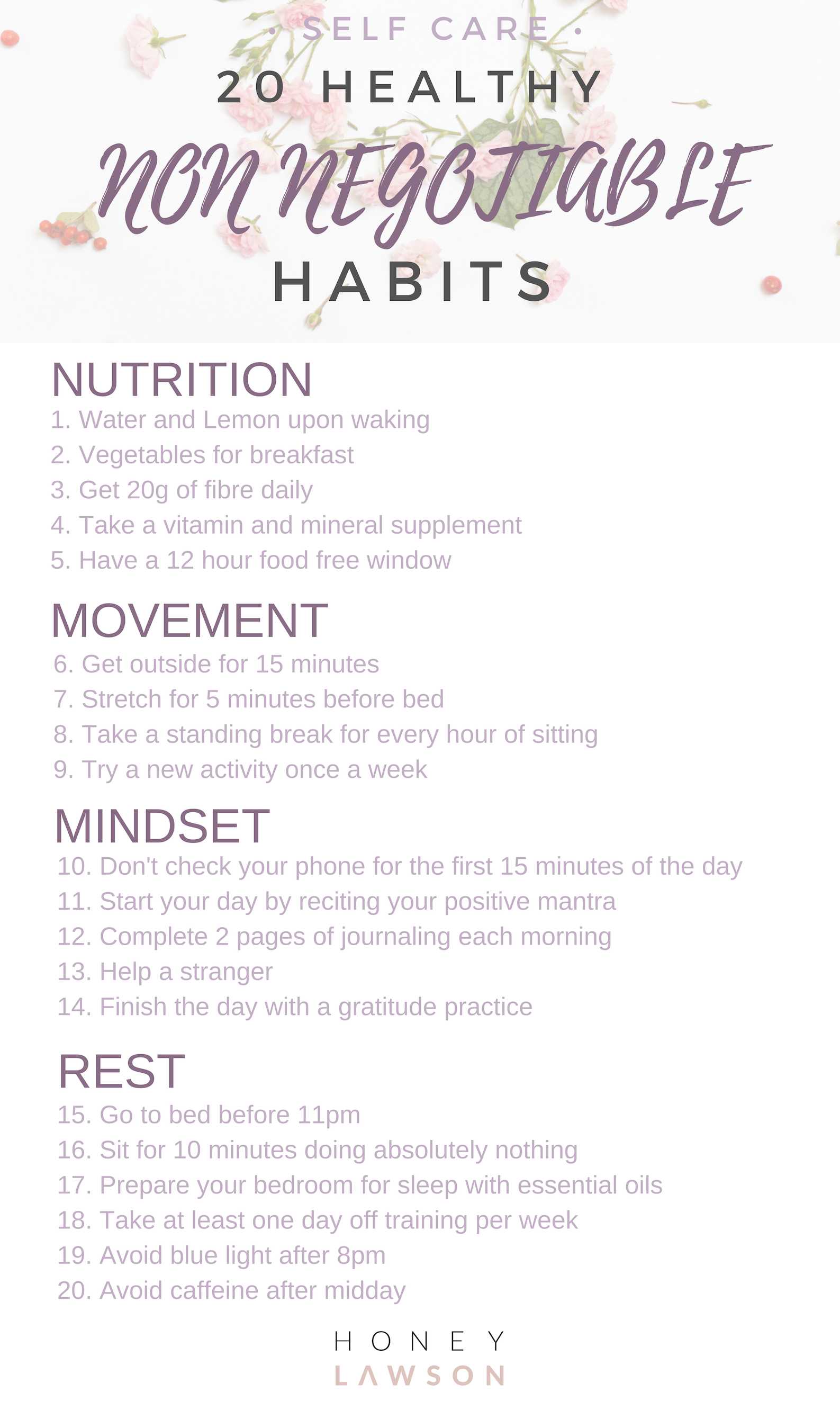 Healthy habits to try today