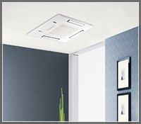 Mini Split Ceiling Cassette Unit Guide Ductless Mini Split Ductless Heating And Cooling Refrigeration And Air Conditioning