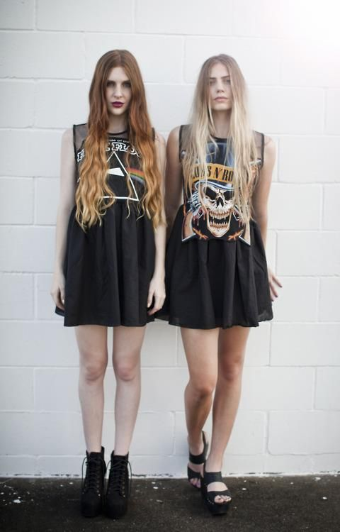 Hipster punk style dresses