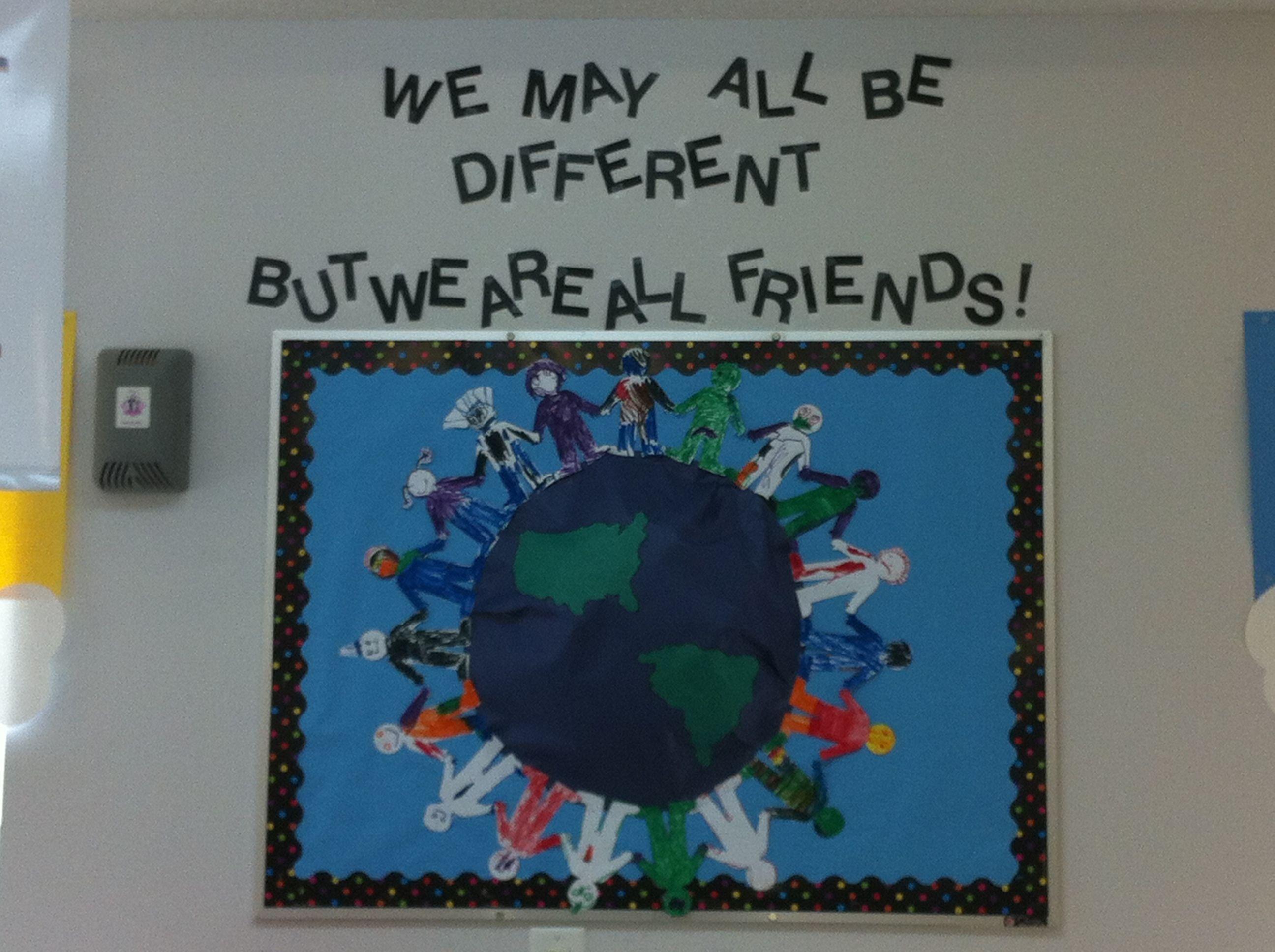 Pre K Friendship Board