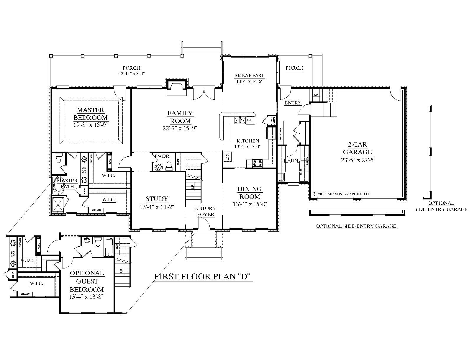 House Plan 3397 D ALBANY