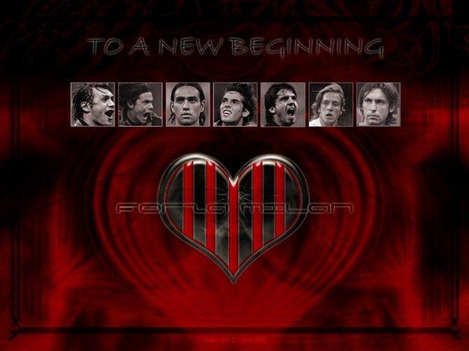 Milan Soccer Team Wallpaper