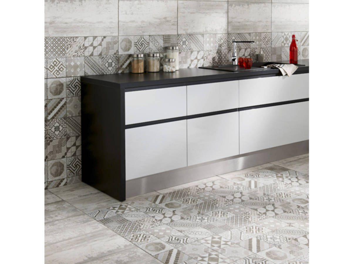 Deux Styles Pour Un Meme Sol Elegant Kitchen Design Kitchen