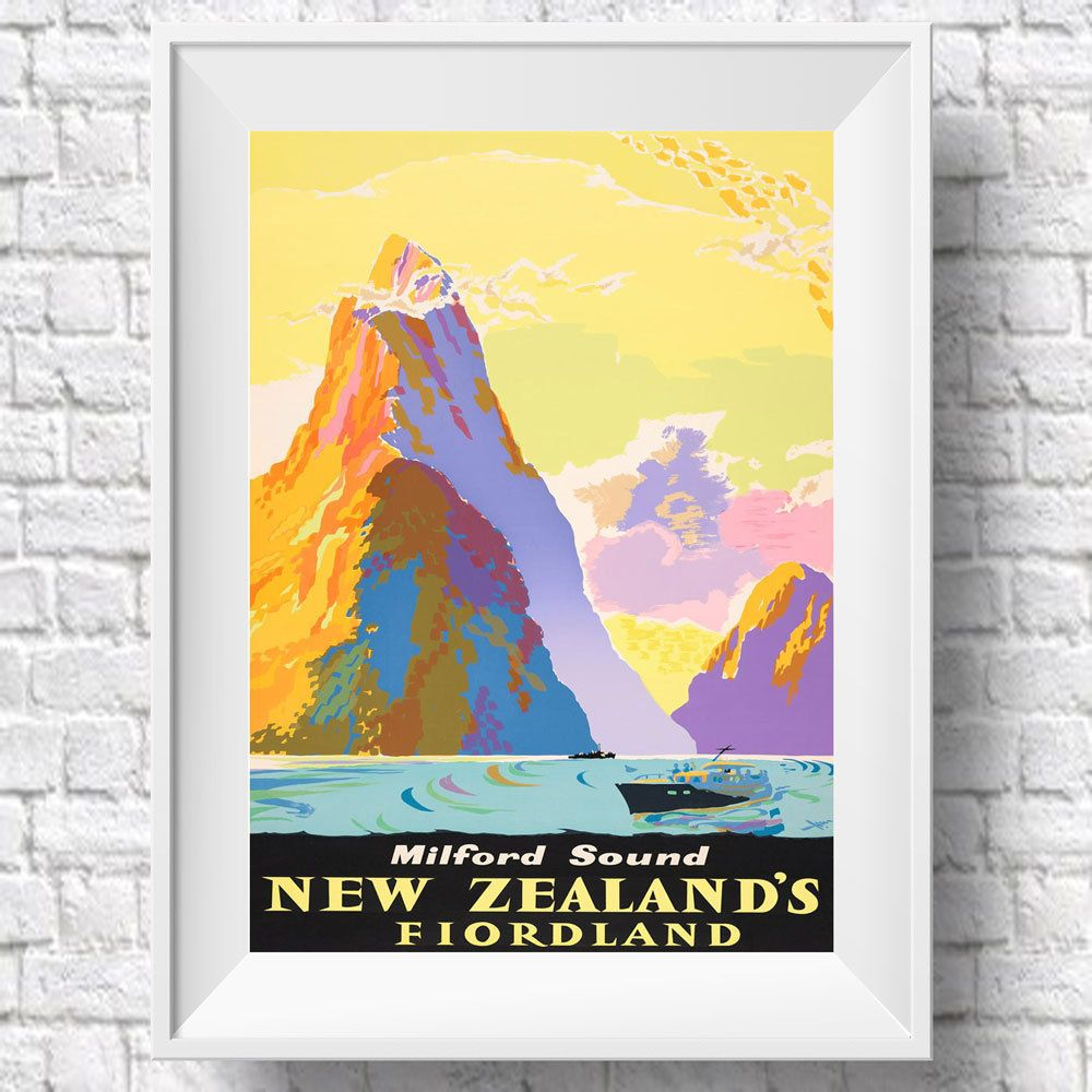Excited to share the latest addition to my #etsy shop: New Zealand ...