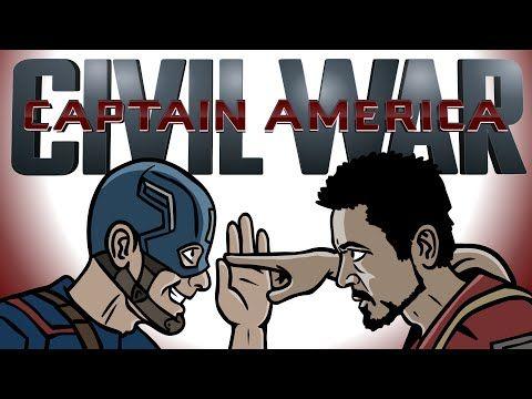 Captain America Civil War Trailer Spoof - TOON SANDWICH - YouTube