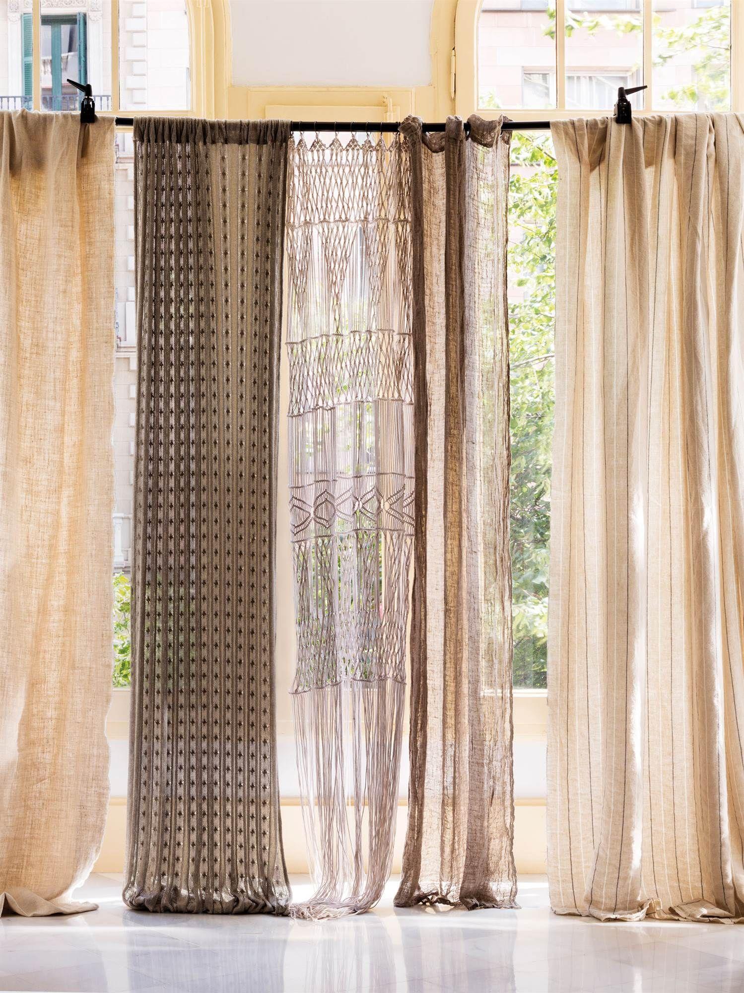 Muestras de distintos tipos de telas para cortinas 00469077 pinterest - Tipos de cortinas ...