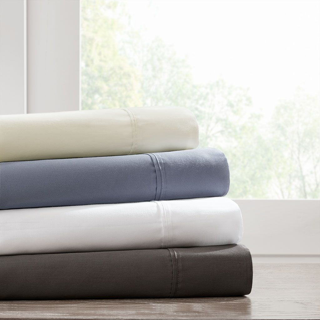 500 Thread Count Queen Cotton Rich Sheet Set Madison Park Mp20