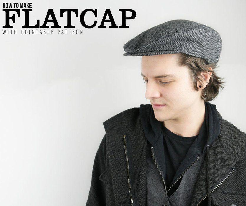 How to Make Flatcap | Hat plans | Pinterest | Patterns
