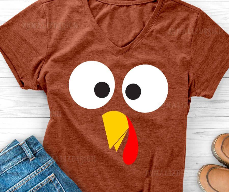 Turkey face svg, Turkey svg, Turkey shirt design
