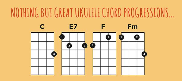 Ukulele Chord Progressions Ukulele Pinterest Guitars Songs