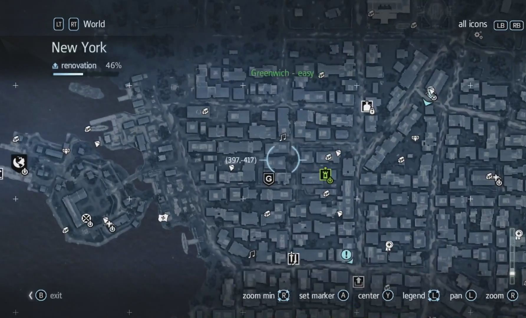 Assassin S Creed Rogue Greenwich Collectibles Locations