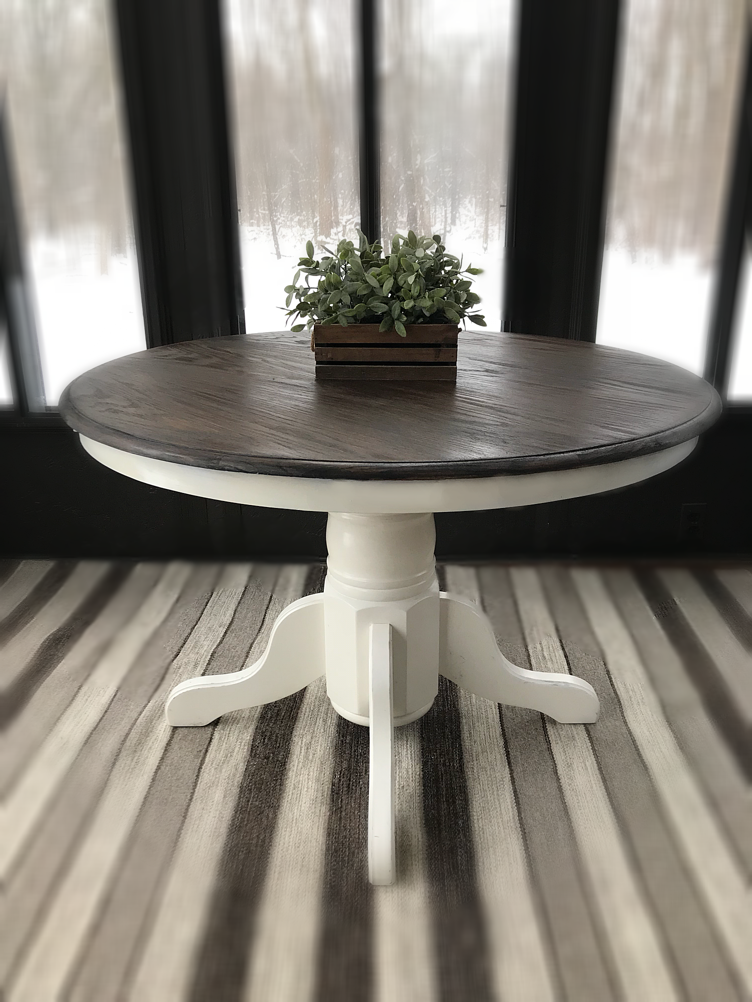 Kitchen Accent Table How Much Does It Cost To Change Cabinets Vintage Wooden Rustic Entryway Farmhouse Country Furniture Console Expandable Round