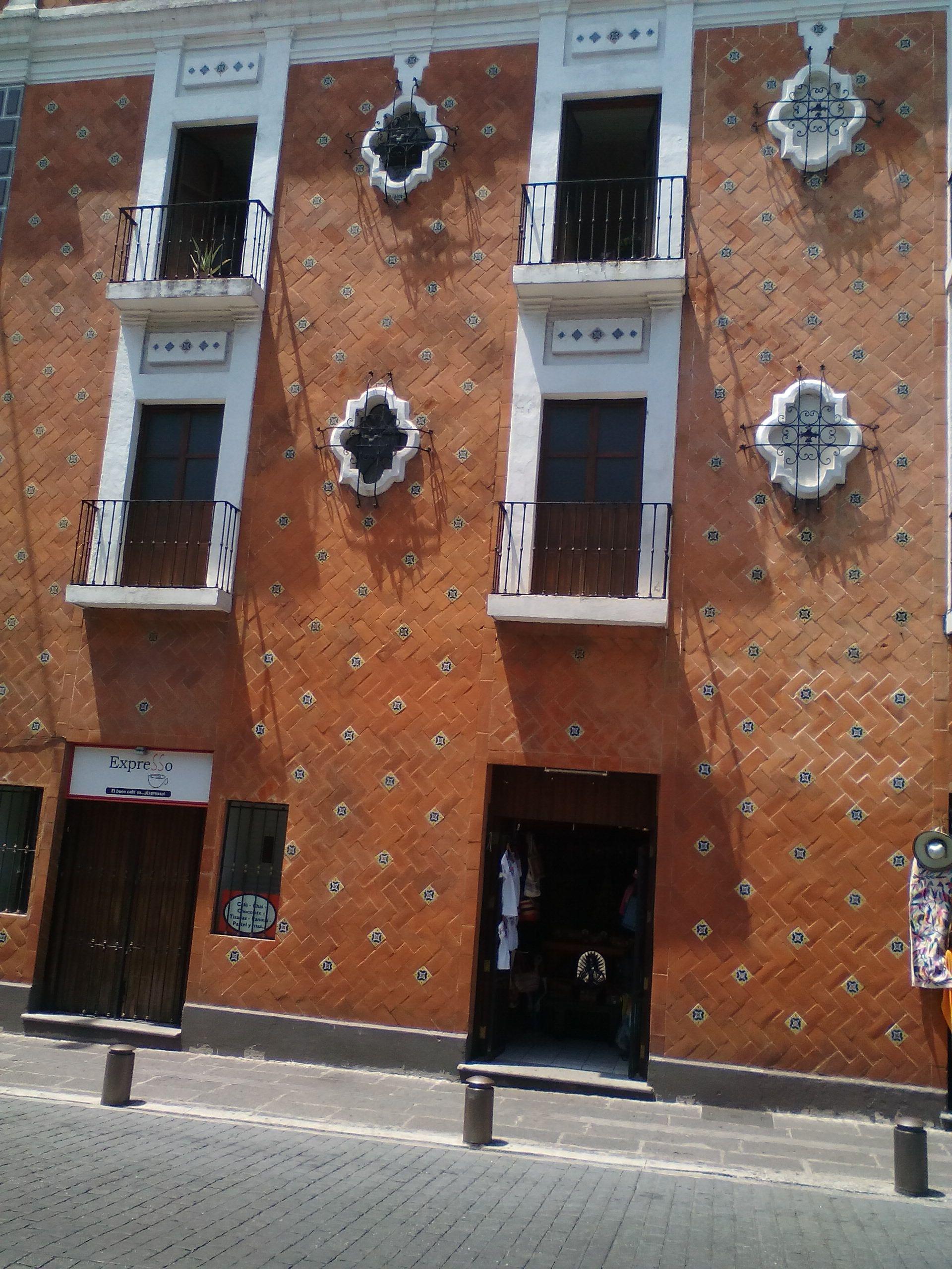 Fachada Casa Puebla México
