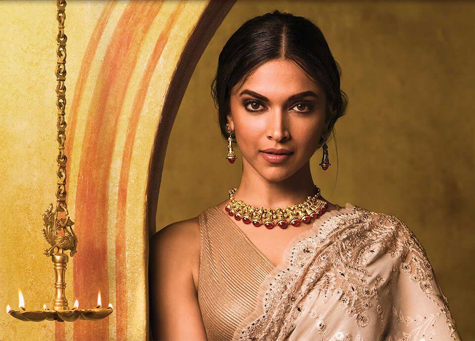 Deepika Padukone for Tanishq Jewelers | Deepika padukone ...