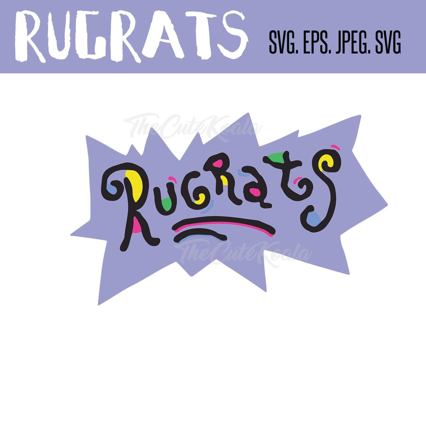 RUGRATS SVG File | SVG cutting files | Rugrats, Svg file