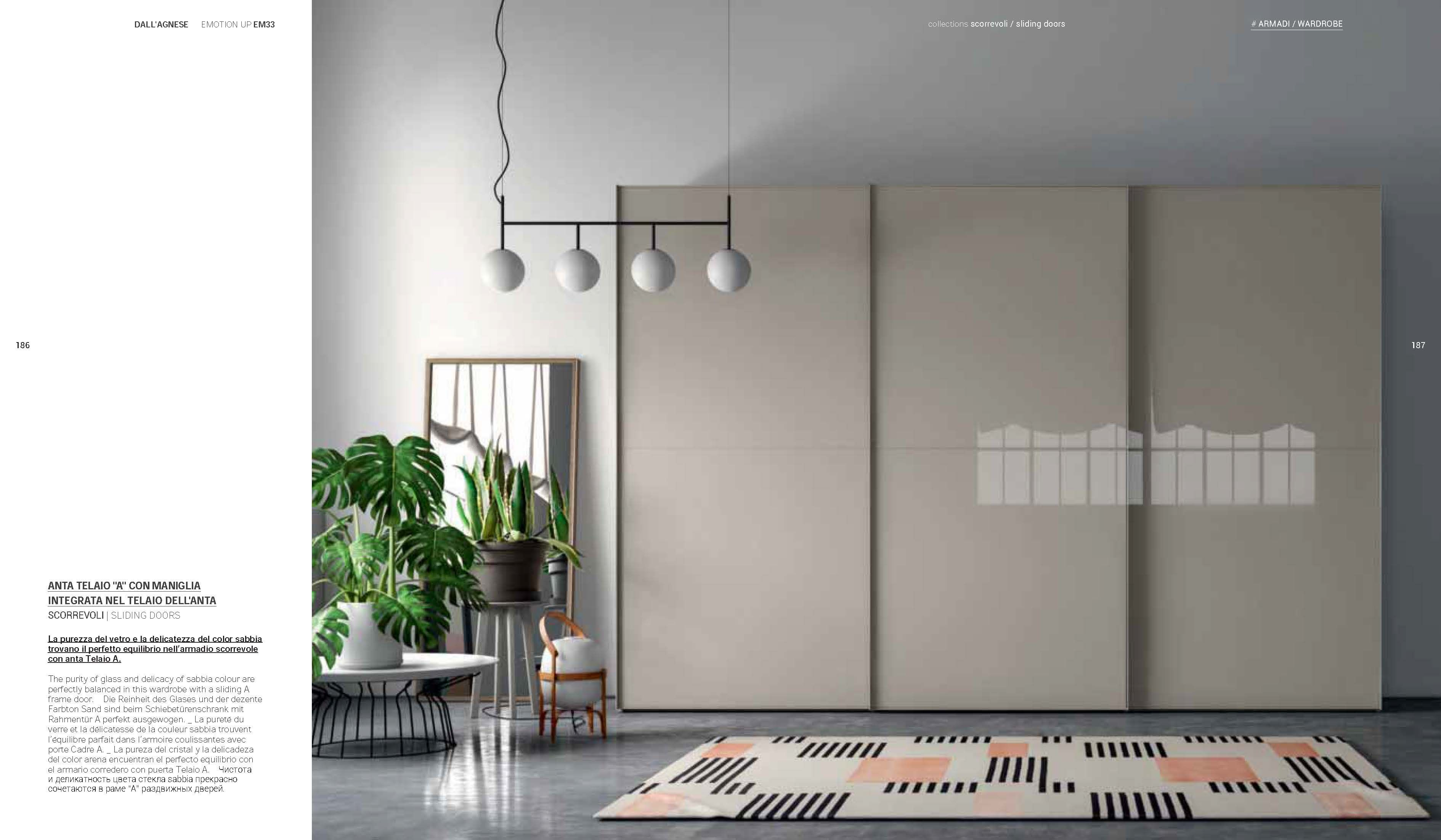Armadio In Vetro dall'agnese the wardrobe collection 2019. sliding doors.anta