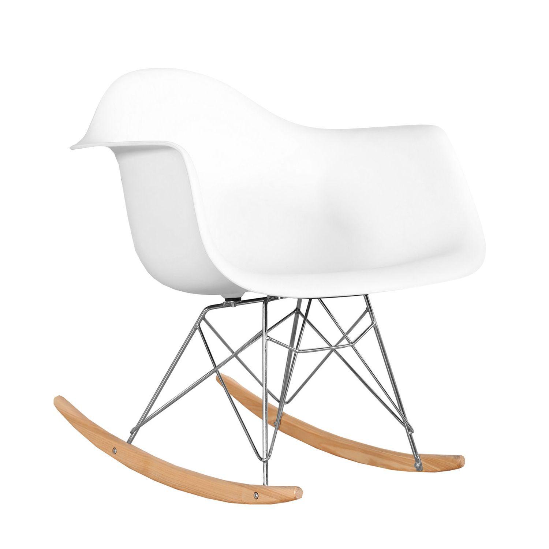 Chaise Eames Pied Eiffel: Inspiré Par La Chaise à Bascule RAR De Charles & Ray Eames