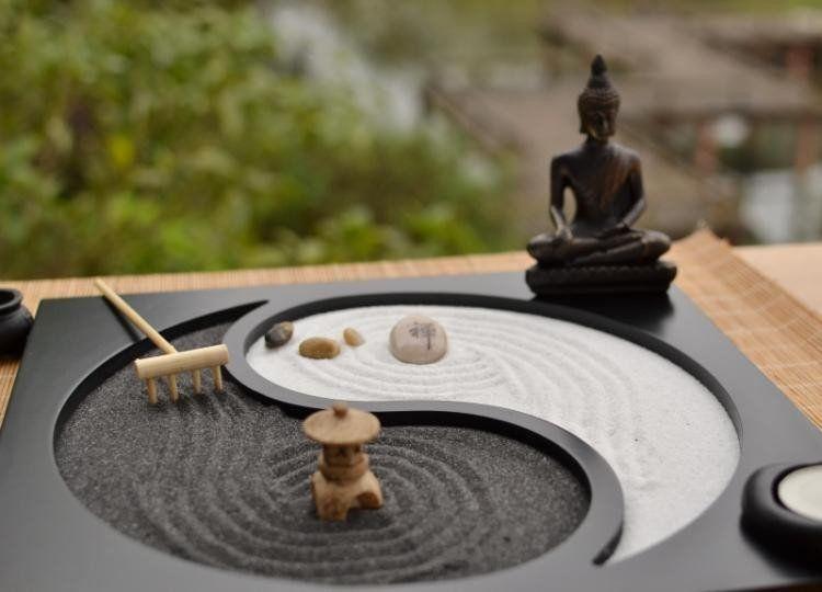 Table Top Zen Garden - jardines zen