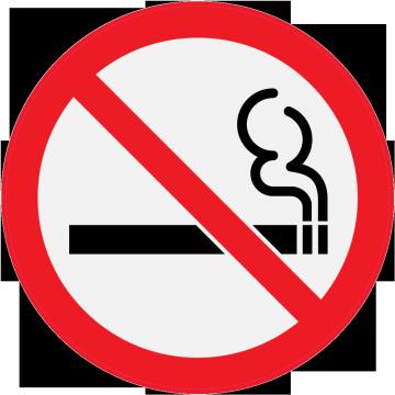 Panneau Interdiction de fumer - Autocollants signalétique