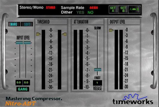 Timeworks Mastering Compressor Compressor Plugs Virtual Studio