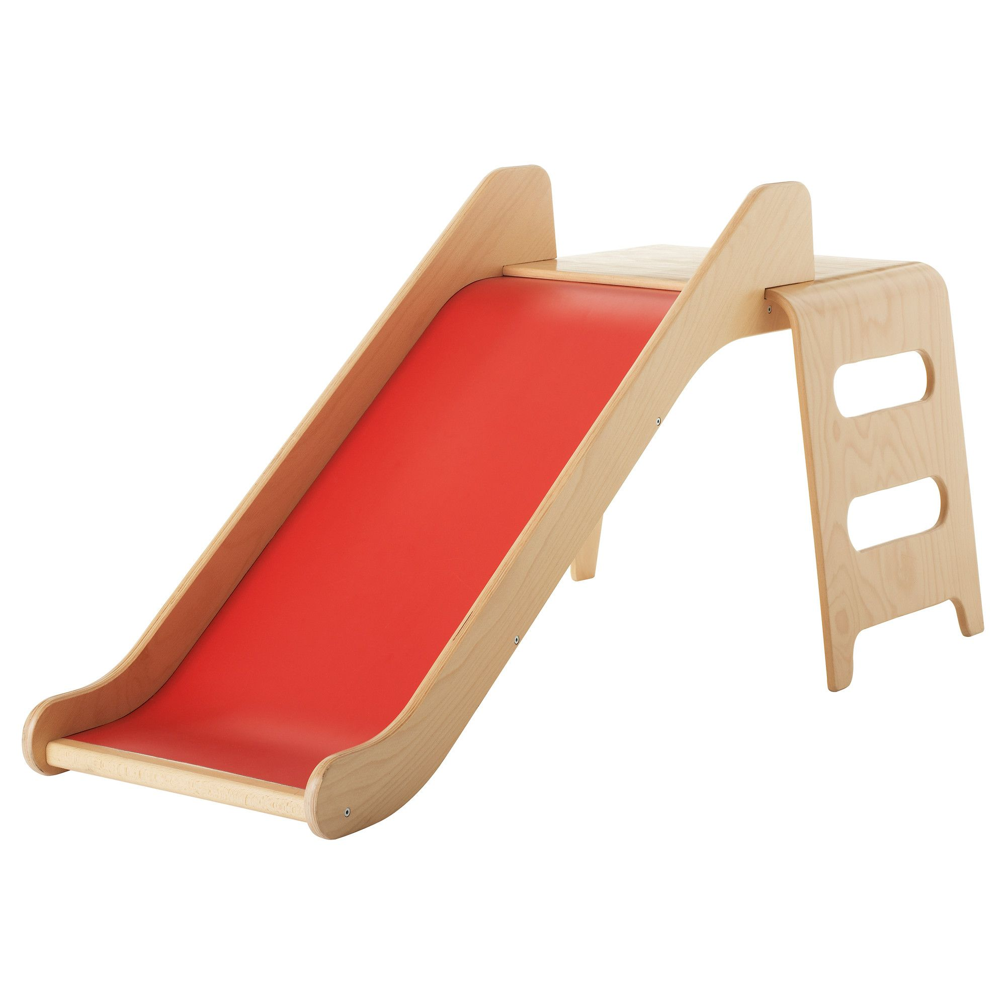 Kinderrutsche Holz Virre Slide With Ladder And Guard Rail Ikea Perfect For The