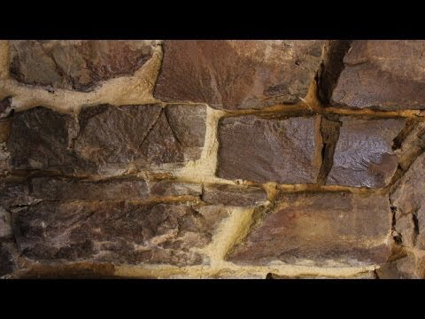 Working With Lime Mortar Pointing Stone Walls Mortier De Chaux Hacer Juntas Con Mortero De Cal Youtu Stone Wall Exterior Stone Natural Building Materials