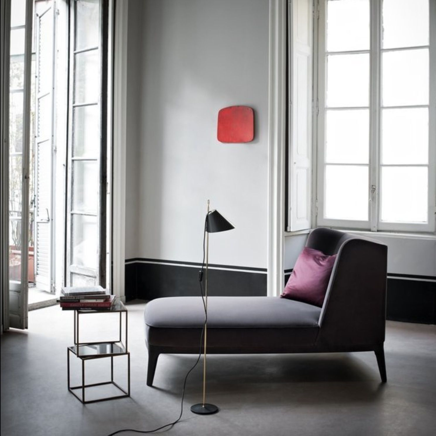 Chaise Design Pop of Colour | Interior decor ideas ...