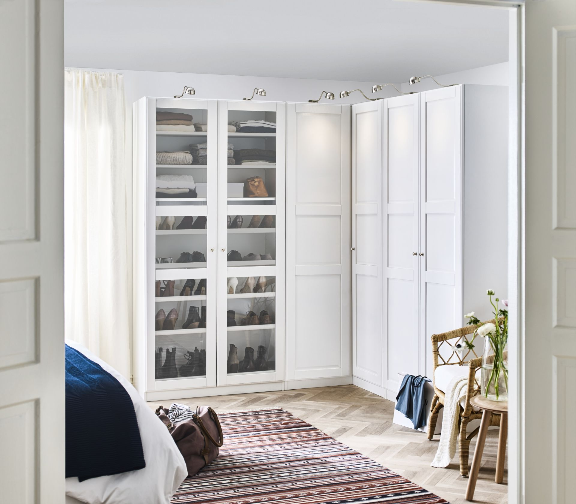 Ikea Kleding Opbergen Pax Kledingkast Wit Bergsbo Wit In 2019 Home Decor Bedroom