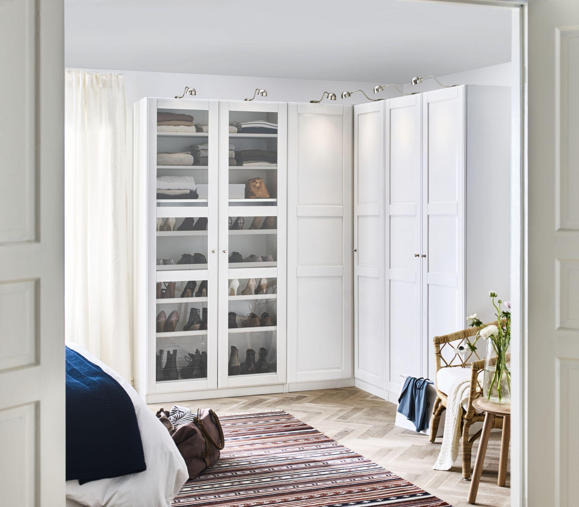 PAX Kledingkast wit Bergsbo wit in 2019  Home Decor