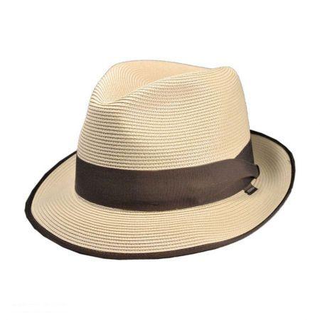 420aac83a22c4 Stetson Latte Milan Fedora Hat