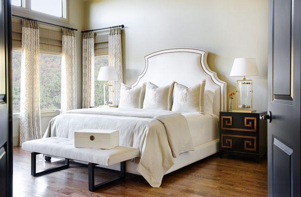 25 rideaux imprimés impressionnants pour la chambre à coucher