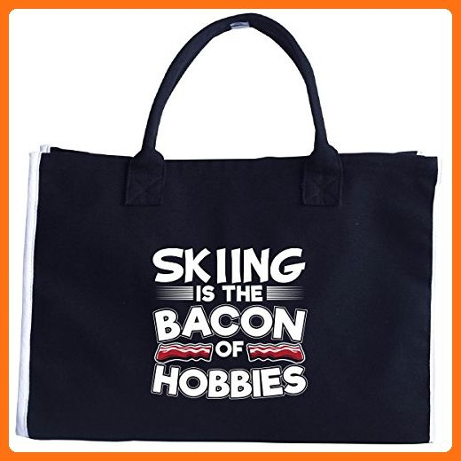 Skiing Is The Bacon Of Hobbies - Tote Bag - Totes (*Amazon Partner-Link)