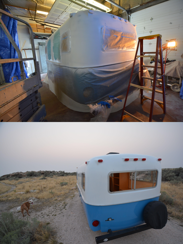 Boler body by camper reparadise vintage trailer
