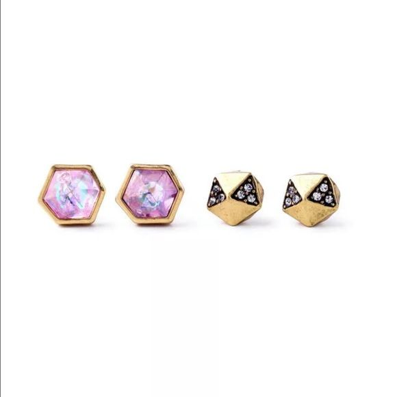 ❤️Geometric Earrings❤️ New in packaging. Two pairs of earrings. Jewelry Earrings
