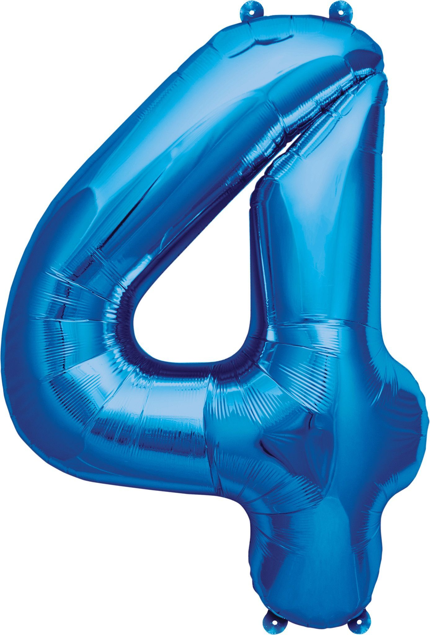 XXL 100cm Giant Helium Foil Balloons Numbers Silver Birthday Number Balloon