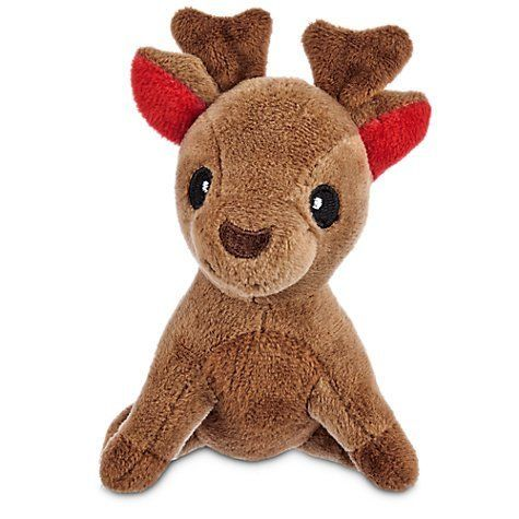 Time For Joy Reindeer Plush Dog Toy Extra Small 6 Inches