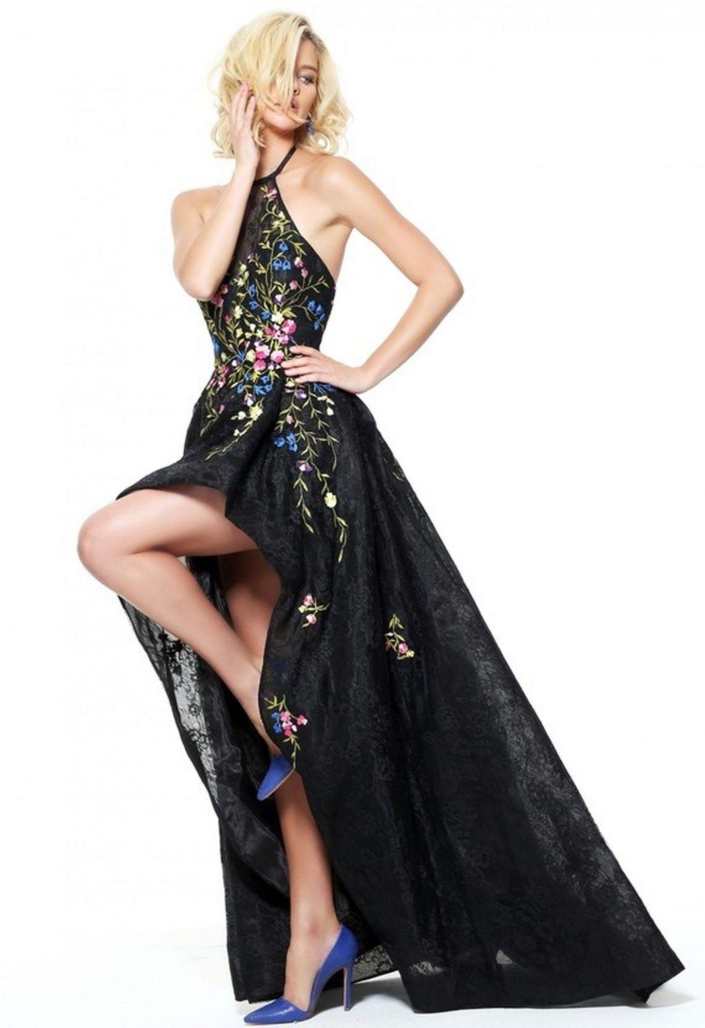 Renkli Abiye Elbise Modelleri 2016 -2017