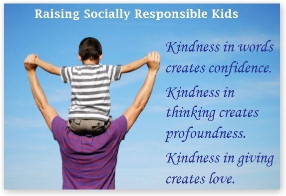 Raising Socially Responsible Kids