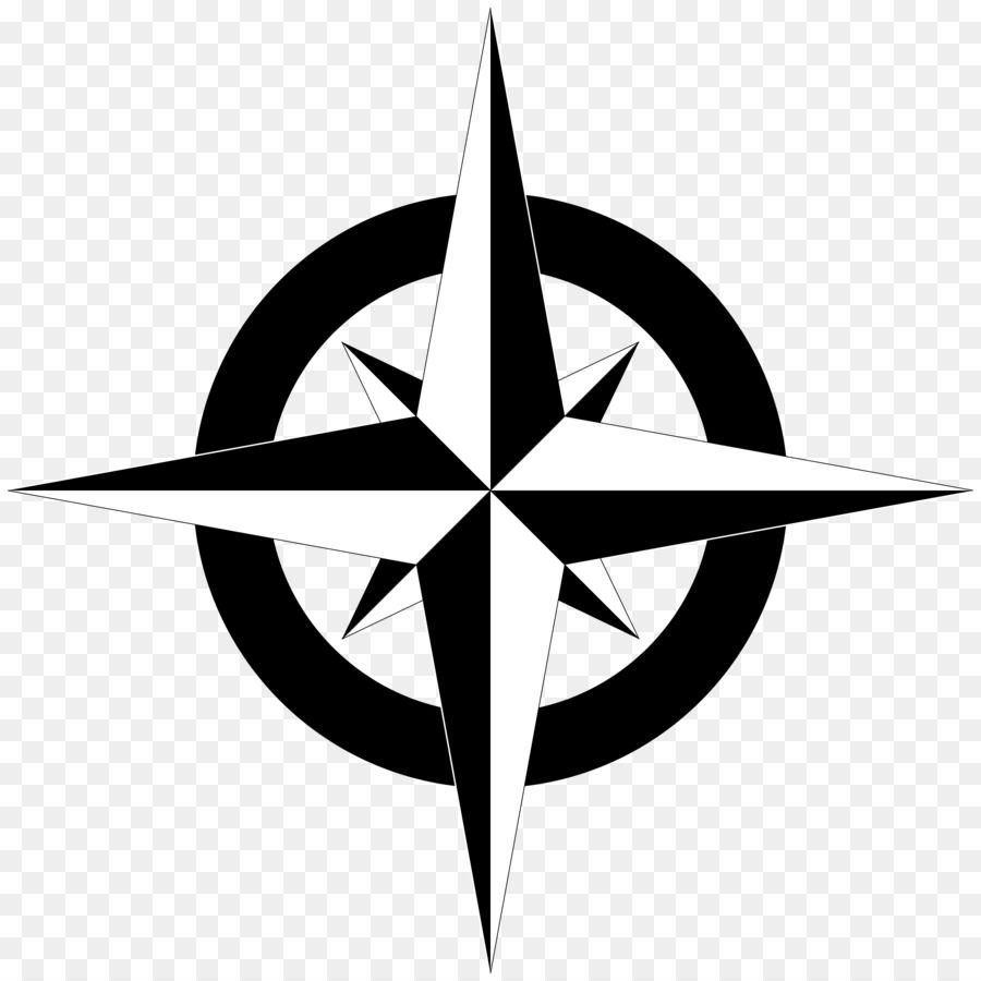 North Compass Free Content Clip Art Simple Cliparts Png Is About Is About Star Symmetry Logo Symbol Computer Wa Map Compass Compass Vector Compass Design