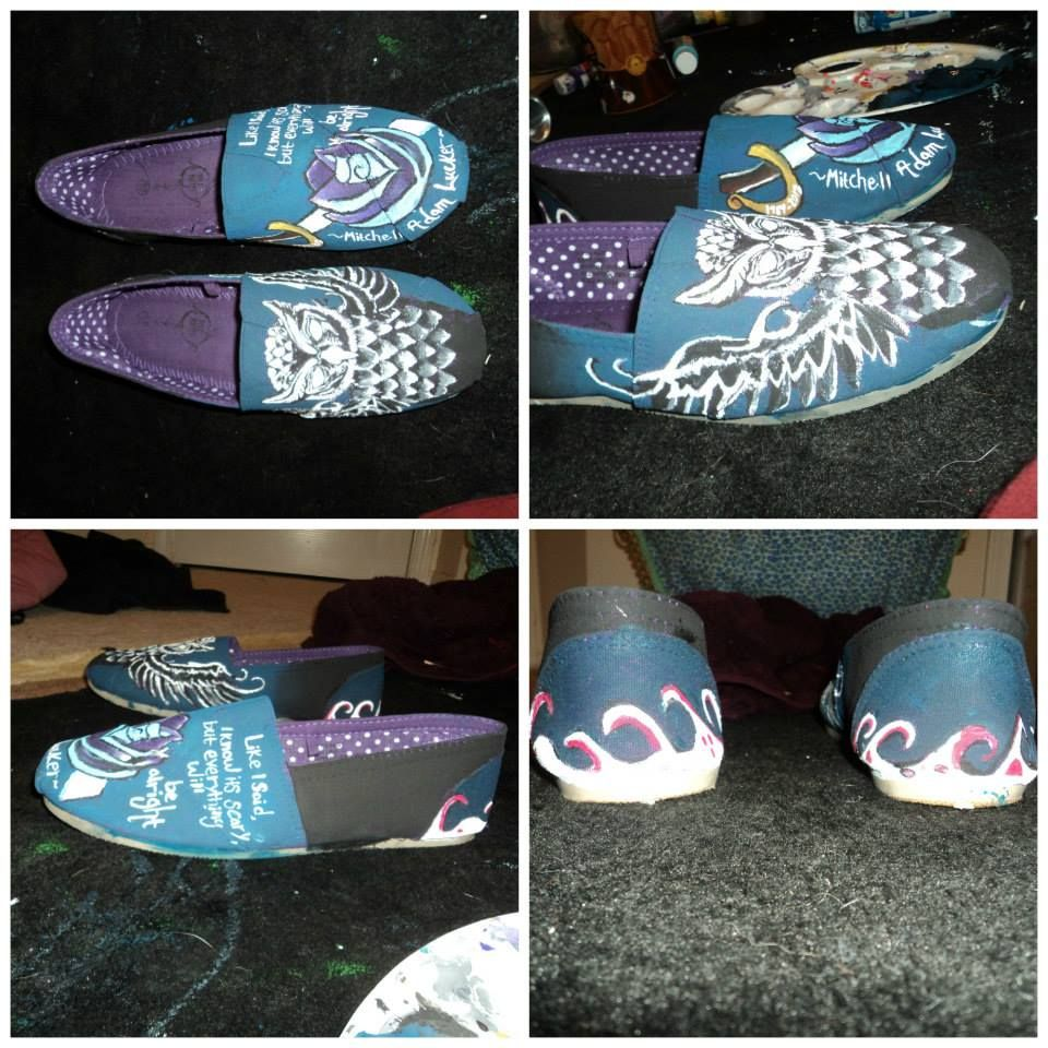 Mitch Lucker memorial custom painted shoes  https://www.etsy.com/listing/202693446/custom-painted-shoes?ref=shop_home_active_8
