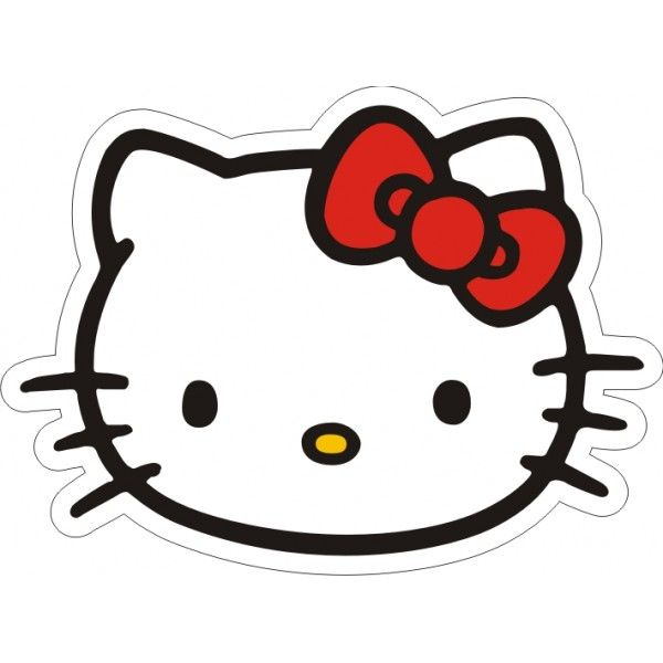 picture of hello kitty face  Hello Kitty Face Red Bow  funny